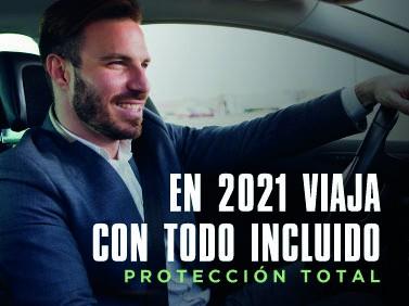 Inicia el 2021 viajando en auto con Todo Incluido