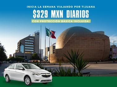 Inicia tu semana viajando por Tijuana a 329 MXN Protección Básica incluida