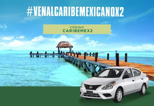 VEN AL CARIBE MEXICANO X2